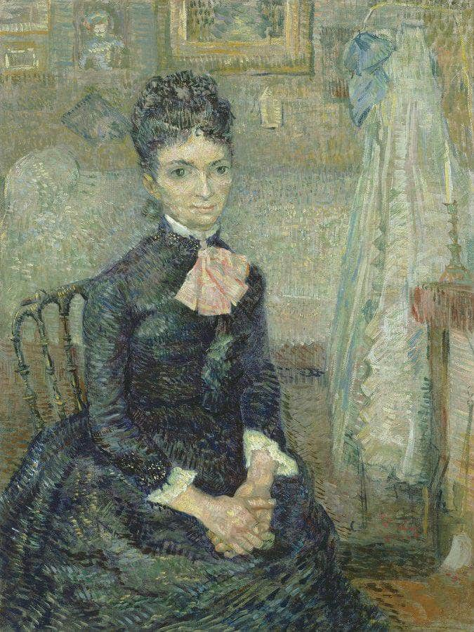 Portrait Of Leonie Rose Charbuy Davy By Vincent Van Gogh