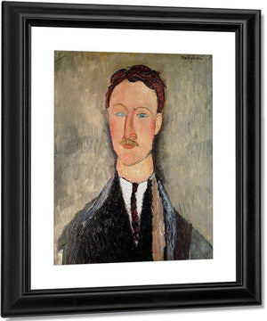 Portrait Of Leopold Survage (1879 1968) By Amedeo Modigliani