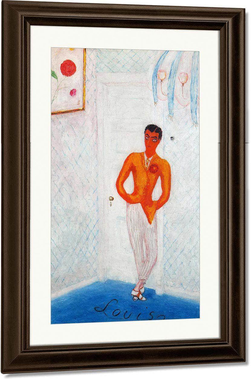 Portrait Of Louis Bernheimer By Florine Stettheimer