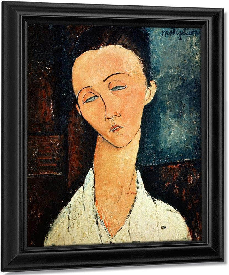 Portrait Of Lunia Czechowskaa By Amedeo Modigliani
