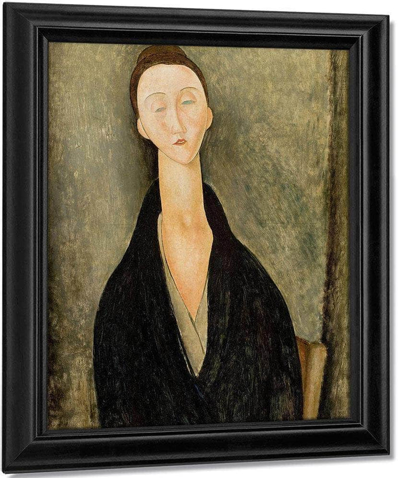 Portrait Of Lunia Czechowskab By Amedeo Modigliani