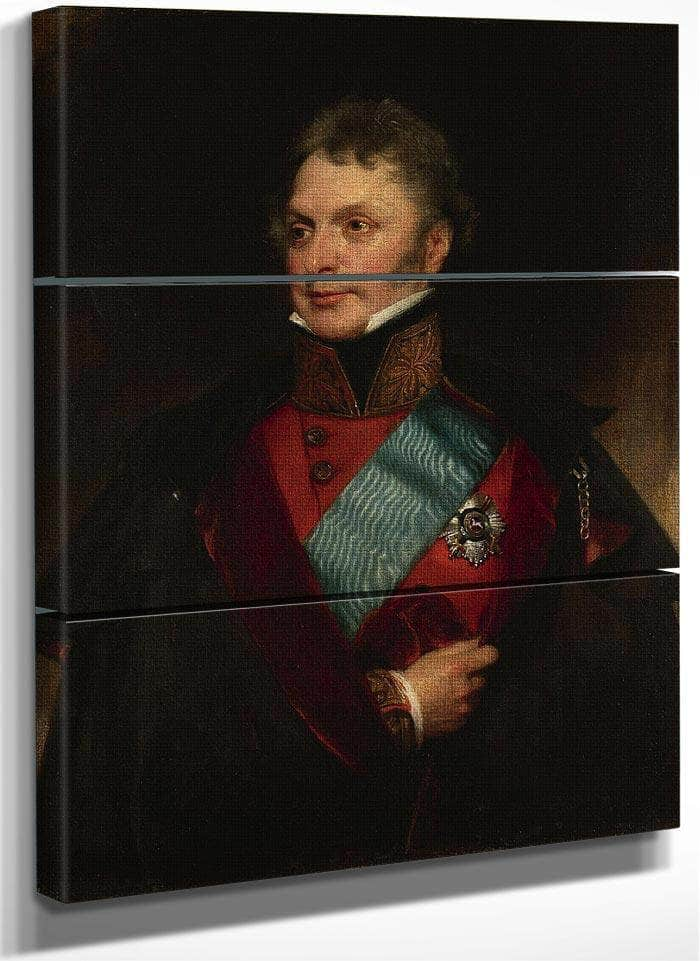 Portrait Of Major General Sir Henry Wheatley, Bt, C.B., G.C.H. (1777 1852) By William Henry Walker