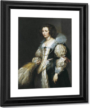 Portrait Of Maria Louisa De Tassis By Anthony Van Dyck