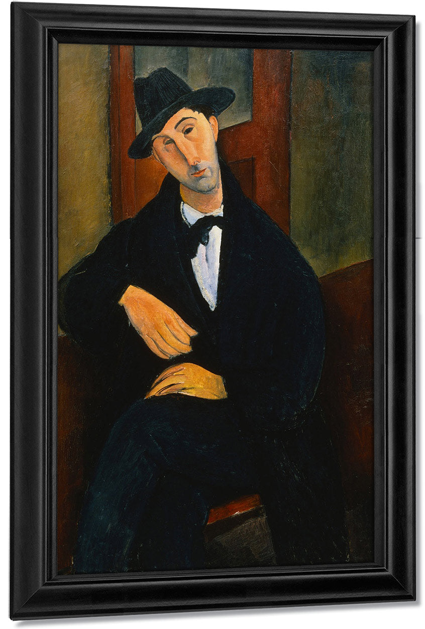 Portrait Of Mario By Amedeo Modigliani