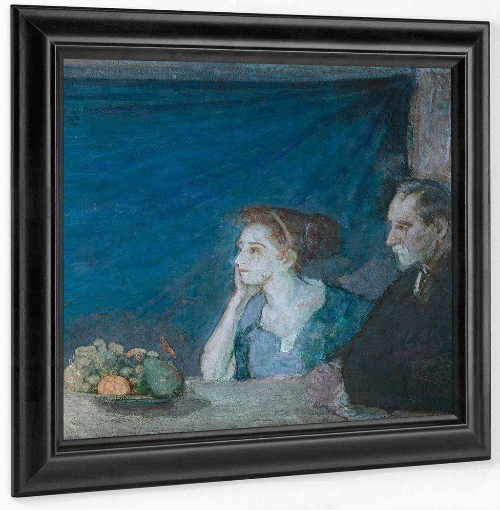 Portrait Of Mr. And Mrs. Atherton Curtis With Still Life By Henry Ossawa Tanner