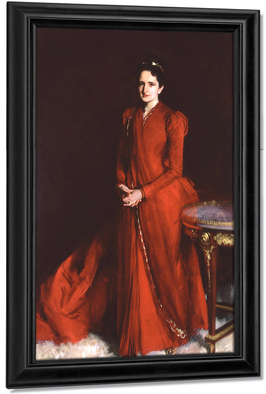 Portrait Of Mrs. Elliot Fitch Shepard (Margaret Louisa Vanderbilt) By John Singer Sargent
