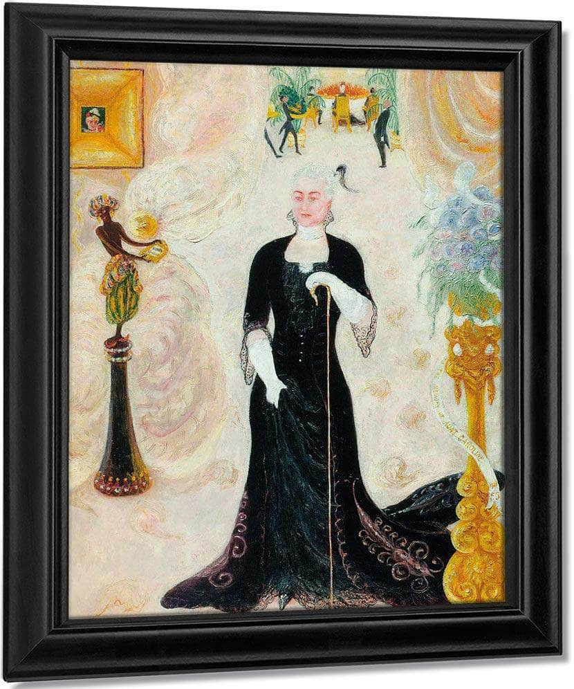 Portrait Of My Aunt By Florine Stettheimer