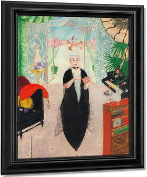 Portrait Of My Mother By Florine Stettheimer