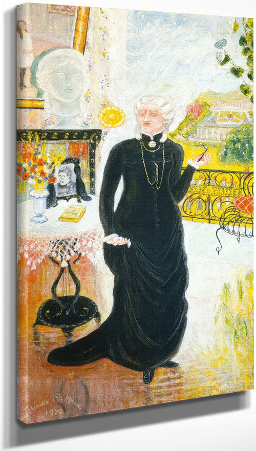 Portrait Of My Teacher By Florine Stettheimer