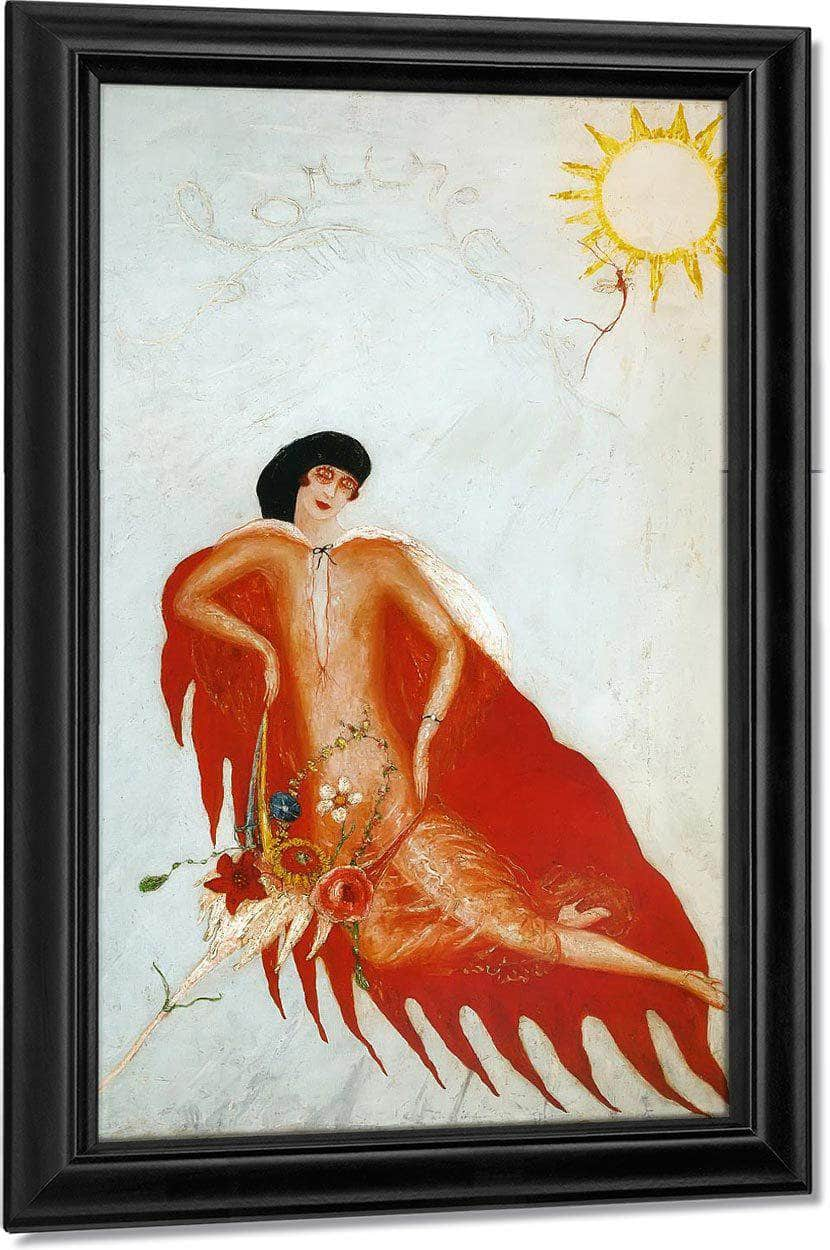 Portrait Of Myself 1923 By Florine Stettheimer