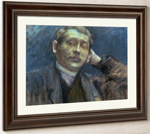 Portrait Of Otto Bacher By Melchers Gari