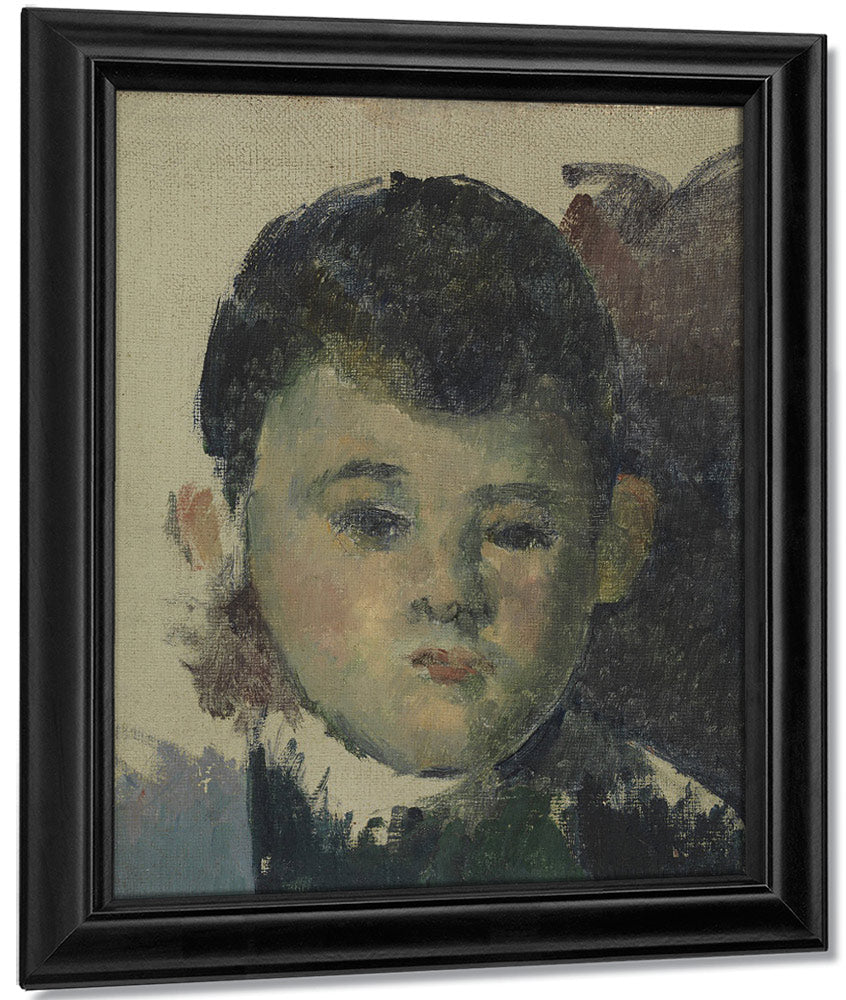 Portrait Of Paul, The Artist's Son (Portrait De Paul, Fils De L'artiste) By Paul Cezanne