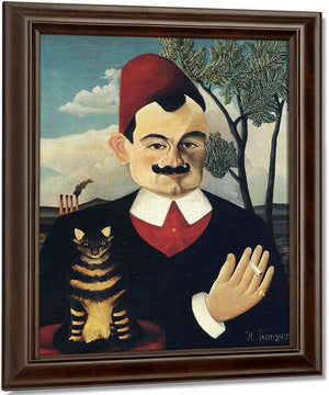 Portrait Of Pierre Loti 1891 By Henri Rousseau