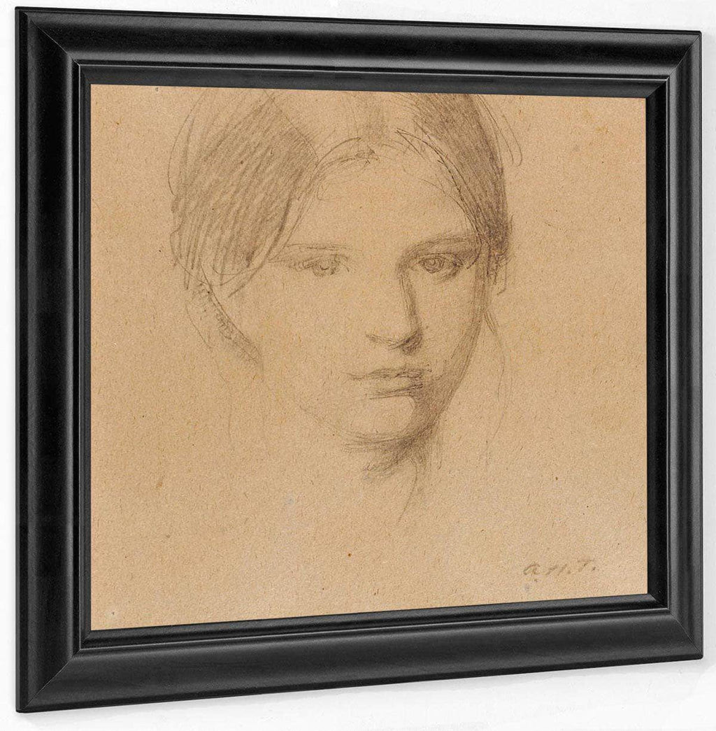 Portrait Of The Artist's Daughter, Mary By Abbott Handerson Thayer