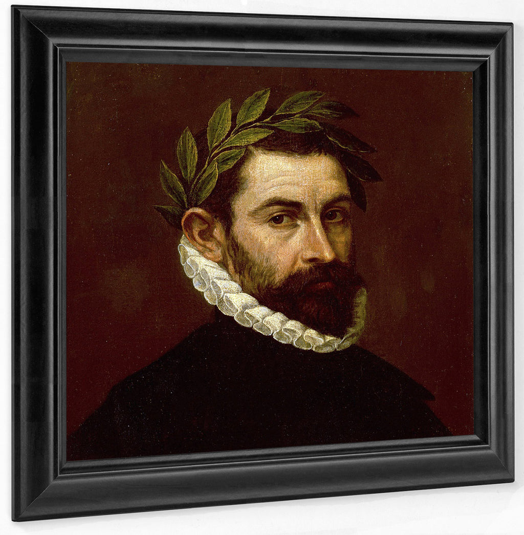 Portrait Of The Poet Alonso Ercilla Y Zuniga By El Greco