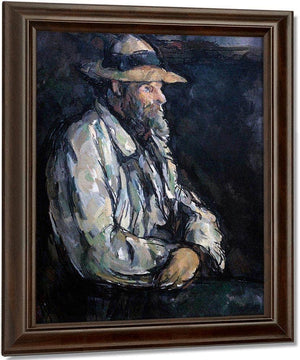 Portrait Of Vallier By Cezanne Paul
