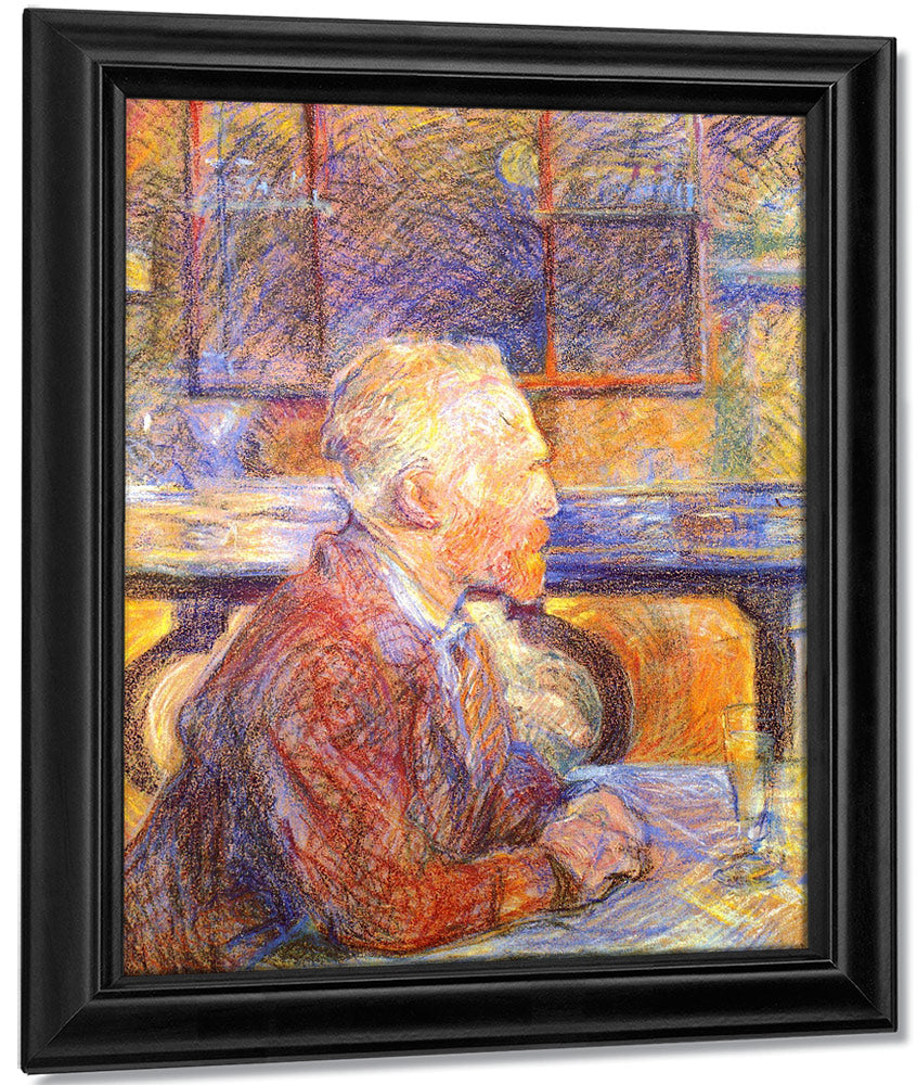 Portrait Of Vincent Van Gogh 1887 By Henri De Toulouse Lautrec