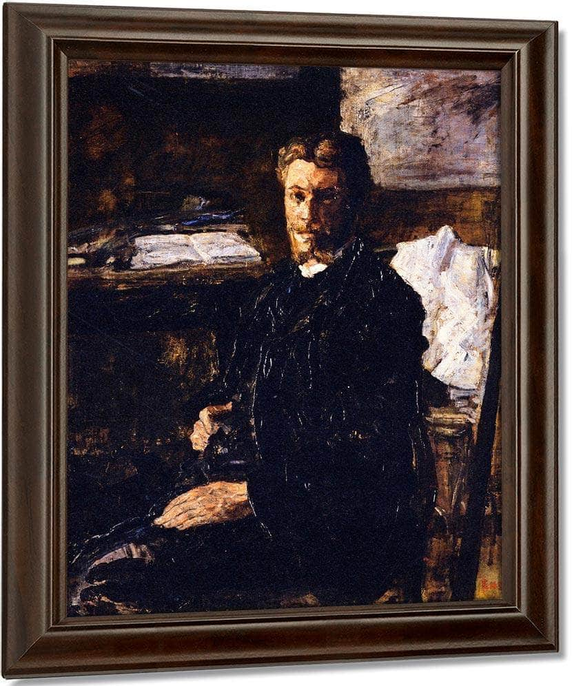 Portrait Of Willy Finch By James Ensor