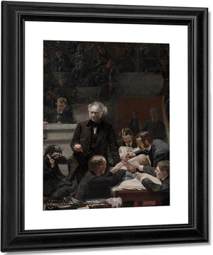 Portrait By Of By Dr. By Samuel By D. By Gross By (The By Gross By Clinic) By Thomas Eakins