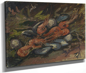 Prawns And Mussels By Vincent Van Gogh
