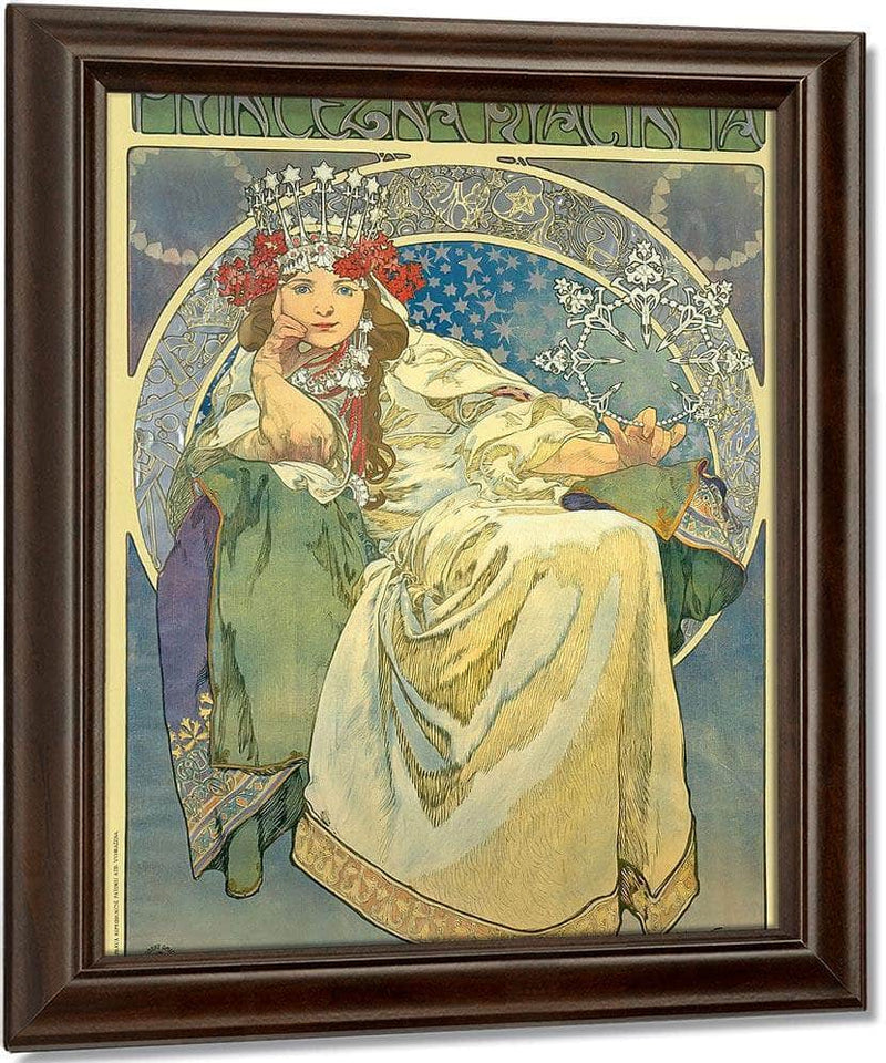 Princess Hyacinth By Alphonse Mucha