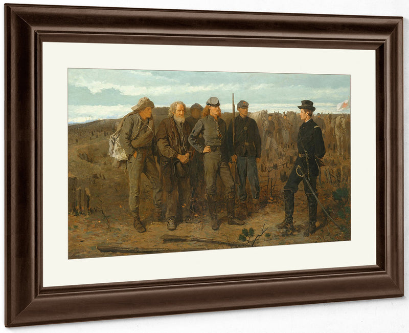 Prisoners From The Front 1866 By Winslow Homer