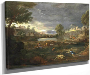 Pyramus And Thisbe By Nicholas Poussin