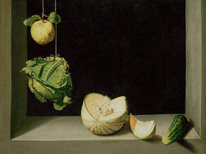 Quince Cabbage Melon And Cucumber By Juan Sanchez Cotan