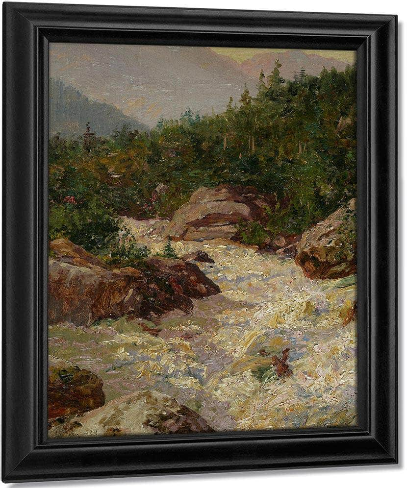 Raging Torrent By Walter Launt Palmer