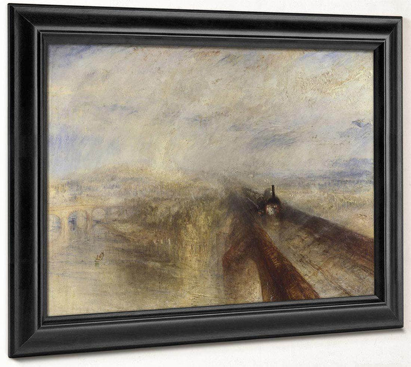 Rain Steam And Speed   The Great Western Railway By Joseph Mallord William Turner