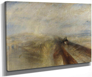 Rain Steam And Speed The Great Western Railway 1844 By Joseph Mallord William Turner