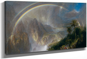 Rainy Season In The Tropics 1866 By Frederic Edwin Church