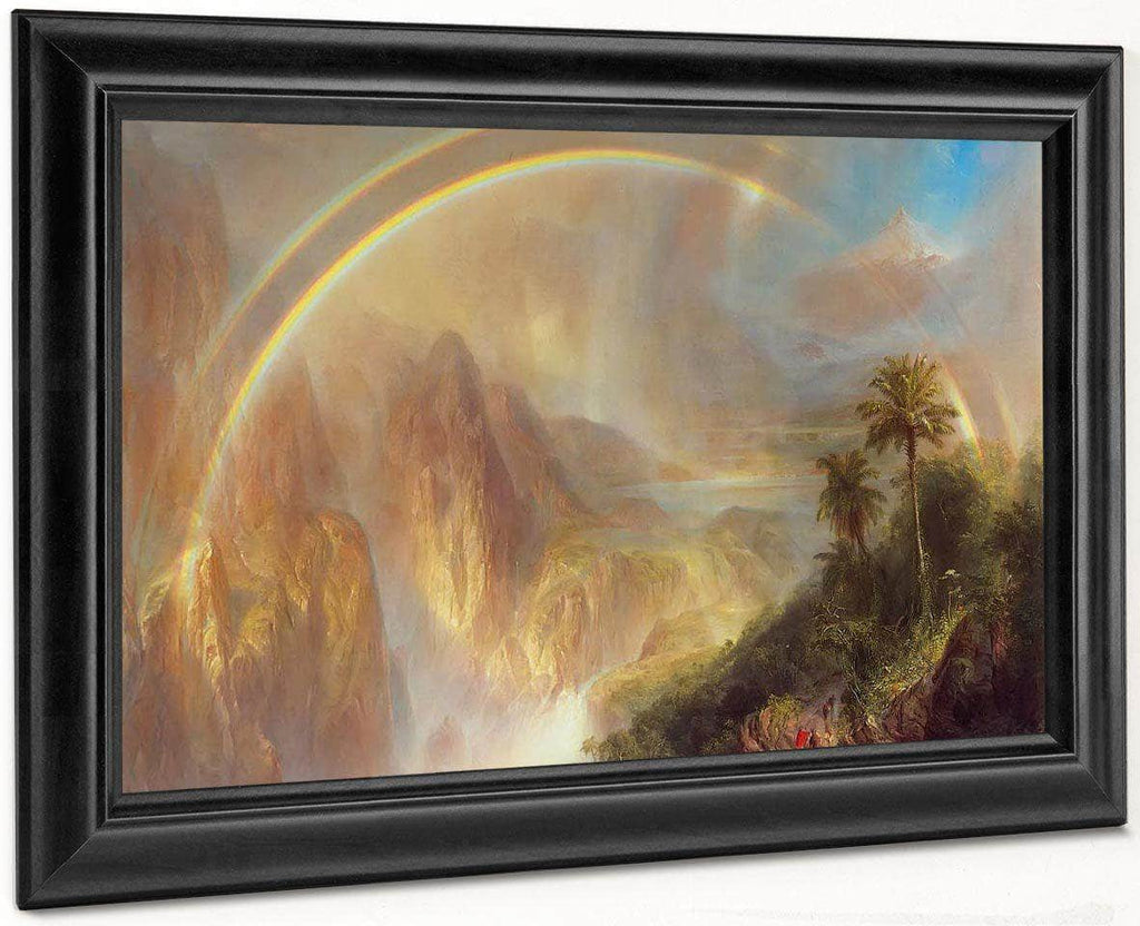 Rainy Season In The Tropics By Fredric Edwin Church