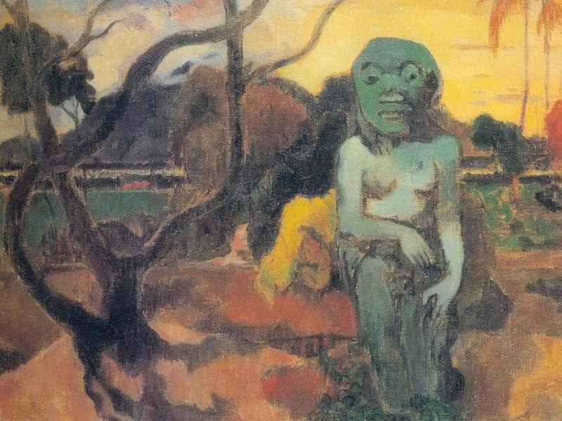 Rave Te Hiti Aamu ( The Idol) By Paul Gauguin