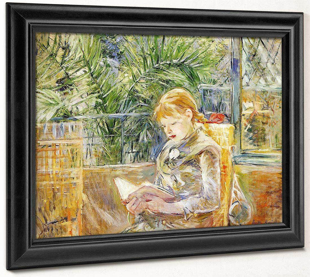 Reading 1888 Oil On Canvas Museum Of Fine Arts Saint Petersburg By Berthe Morisot