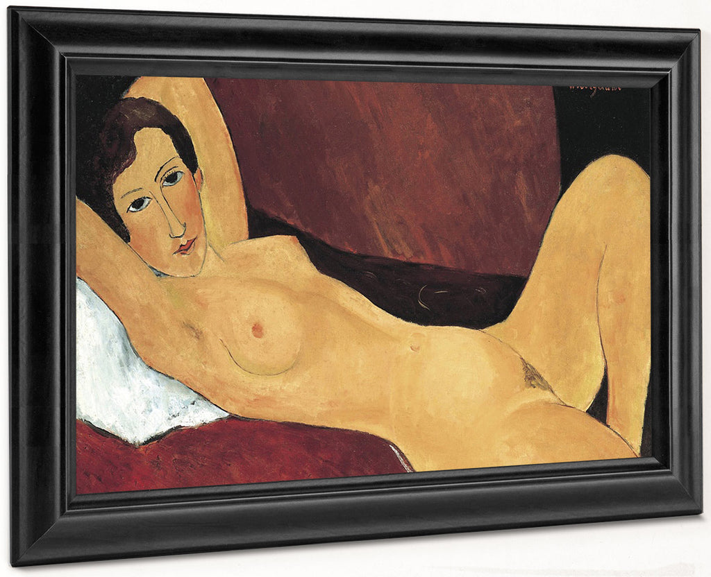Reclining Nudea By Amedeo Modigliani