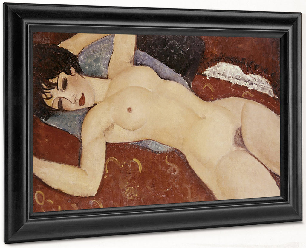 Reclining Nudeb By Amedeo Modigliani