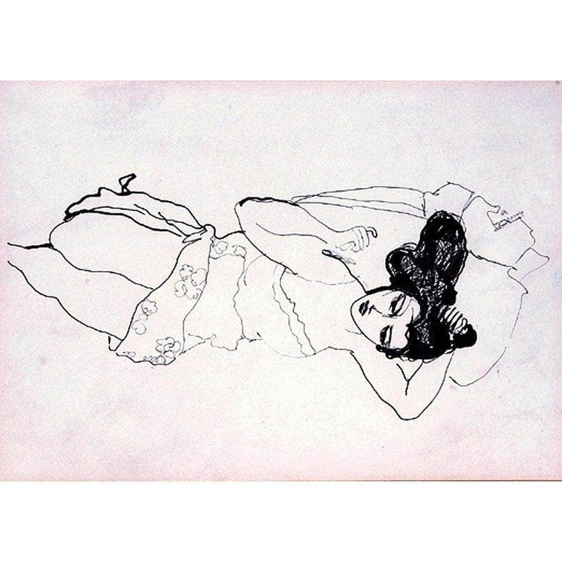 Reclining Woman By Walt Kuhn