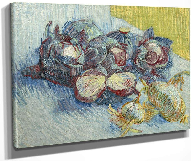 Red Cabbages And Onions By Vincent Van Gogh