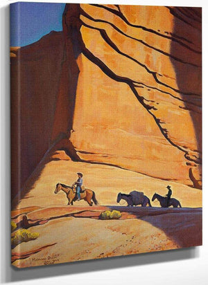 Red Gateway By Maynard Dixon