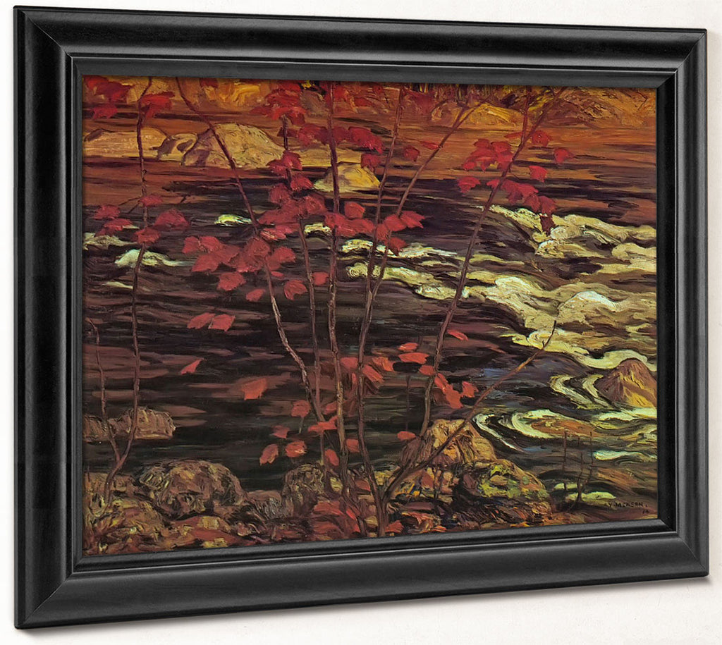 Red Maple By Tom Thomson
