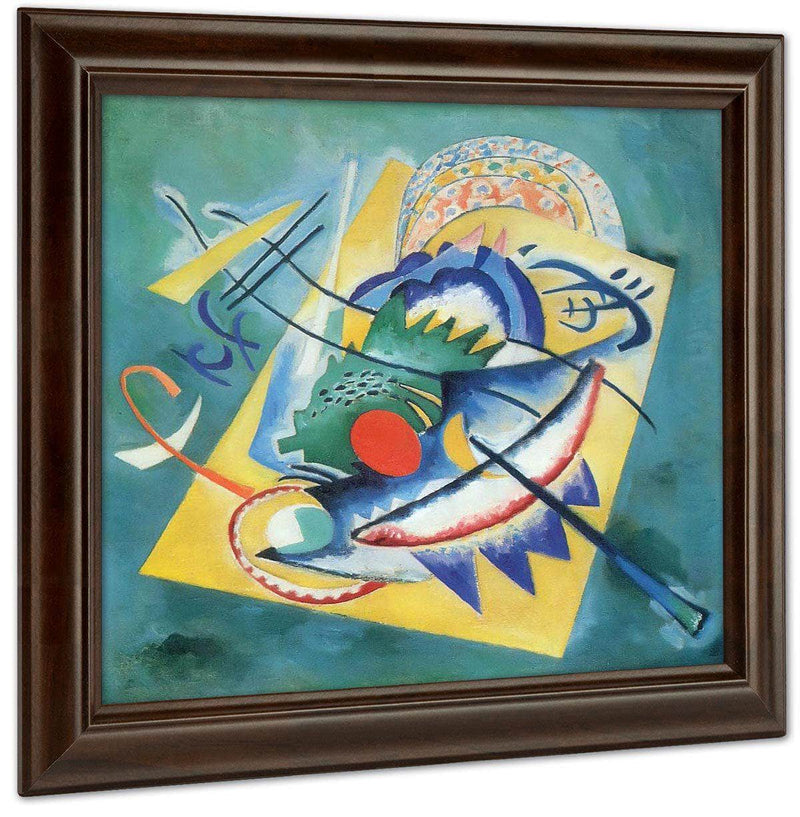 Red Oval 1920 By Wassily Kandinsky