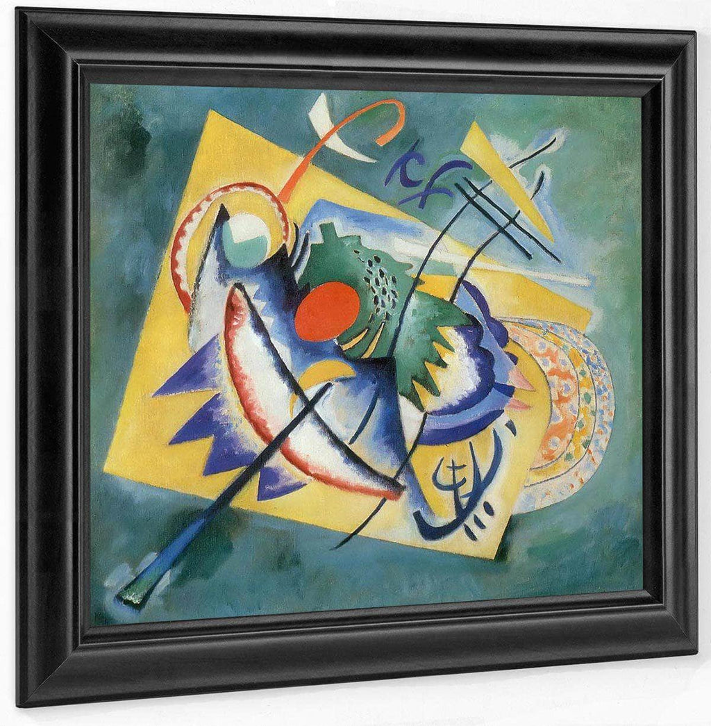 Red Oval By Wassily Kandinsky