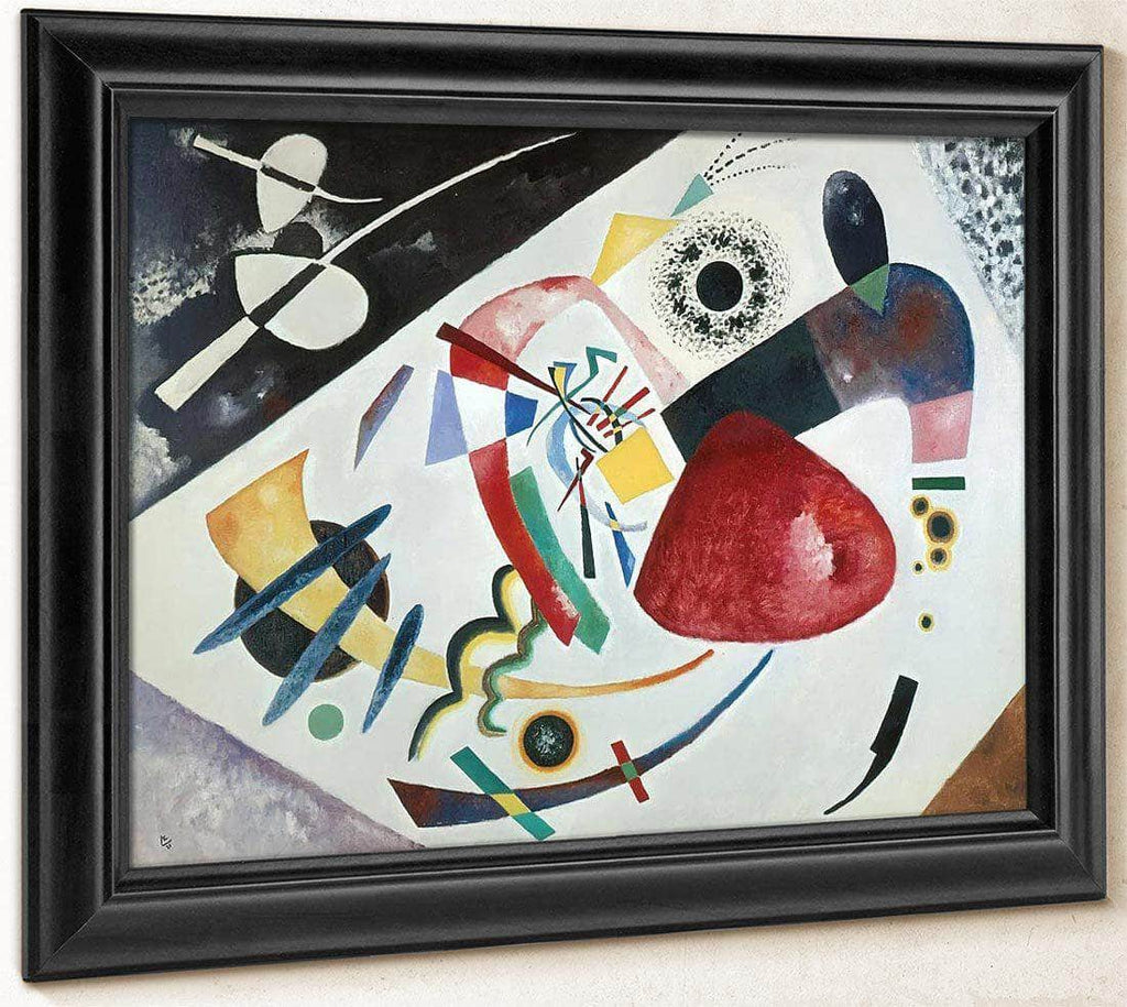 Red Spot Ii By Wassily Kandinsky