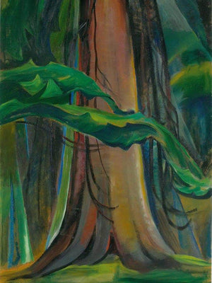 Red Tree By Emily Carr