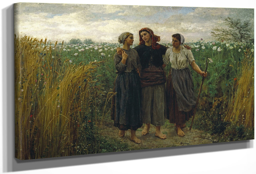 Returning From The Fields By Jules Breton