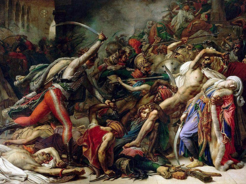 Revolt In Cairo On 21 October 1798 1810 By Anne Louis Girodet
