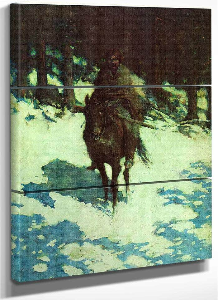 Rhe Sentinel By Frederic Remington