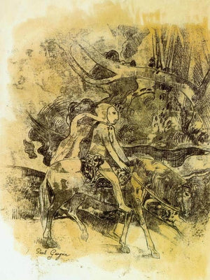 Rider By Paul Gauguin