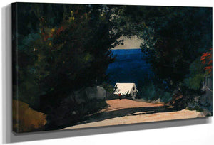 Road In Bermuda By Winslow Homer